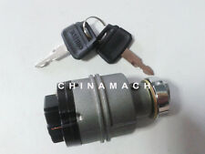 Ignition Starter Switch With 2 Keys YN50S00026F2 for Kobelco Excavator SK200-8
