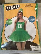 NEW M & M's Adult Size Sexy Green Party Dress Costume #3932 - Adult 4 - 10 476