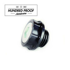 HUNDRED PROOF HARDWARE Oil Cap Honda Civic Acura Integra D15b B16a K20a [Black]