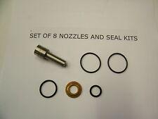LB7 Duramax Diesel OEM Injector Nozzle Set (8)  OEM Brand NEW  fits 2001 - 04.5