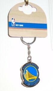 Official NBA Basketball Golden State Warriors Team Badge Metal Keyring