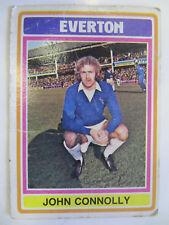 John Connolly - Everton (Topps Cards 1975/76 - Blue/Grey Back)