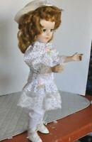 """Vintage 1950 's 20"""" American Character Sweet Sue Walker Doll redressed"""