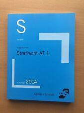 AS ALPMANN SCHMIDT Skript Krüger Sommer STRAFRECHT AT 1 StGB 16. Auflage Examen