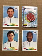 France 98 Panini - (2) TWO Sets of 3 English players
