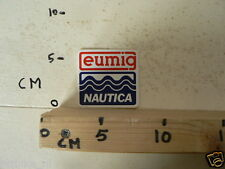 STICKER,DECAL EUMIG NAUTICA BOOT SCHIP JACHT A