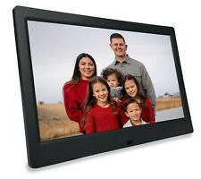 Phone2Frame 10 Inch Black Digital Frame Gets Pictures to the Frame Without Wi-Fi