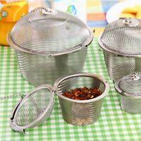 Practical Stainless Steel Tea Ball Mesh Loose Leaf Infuser Filter Spice Strainer