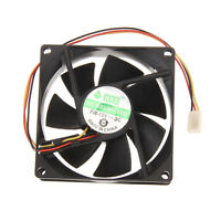 80mm 25mm 3-Pin PC CPU Cooling Case Fan Heatsinks Radiator for Desktop Computer