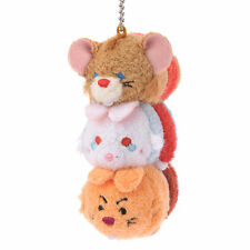 Disney Japan Alice in Wonderland Dormouse Rabbit March Hare Tsum Tsum Key Chain