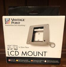 "Vantage Point LCD TV Monitor Mount Vesa 100mm 13""-30"" Screen 0º/ 7º Tilt"