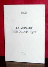 Jean Dee - La Monade Hiéroglyphique