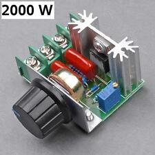 AC 230V 2000W Drehzahlregler Drehregler Drehzahlsteuerung Spannungssteuerung