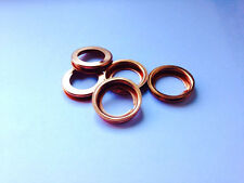 Collapsible Copper Sump Plug Washers - PN106 - (x5)