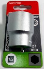 """Steckschlüssel Einsatz 1/2""""x 27 mm - Chrom Vanadium - Connex"""