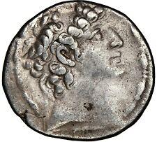 SELEUCID KINGDOM Philip I Philadelphus 95-75 BC AR tetradrachm NGC Choice VF