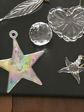 Lot Of Glass And Crystal Ornaments