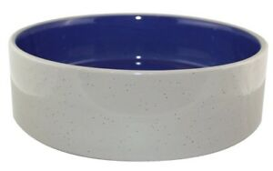 Stoneware Crock Dog Dish NEW Pet Water Food Bowl Puppy Cat Snake 9.5 inches