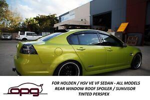 Rear Roof Visor Spoiler Sunvisor for Holden HSV VE VF E1 E2 E3 GENF GENF2 Sedan