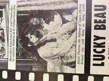 m4-8b ephemera 1970s film article beau bridges behind the iron mask