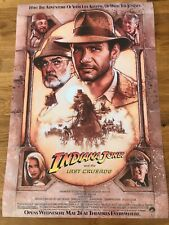 Large Movie Poster Indiana Jones and the Last Crusade 430mm x 630mm