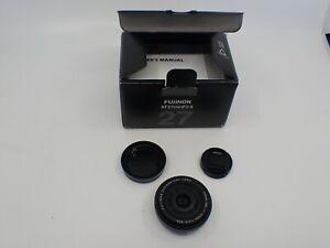 Fuji Fujinon XF 27mm F/2.8 Lens (Black)