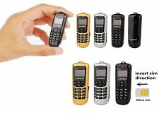 Offer New Zanco Black Worlds Smallest Phone with Voice Changer Bluetooth