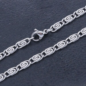 Stainless Steel Anklets T and CO Chain Ankle Bracelet 3.4 mm 11 Inch SSA015-11