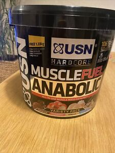 USN Muscle Fuel Anabolic All in One Muscle Mass Catalyst / Variety Pack - 5.32kg