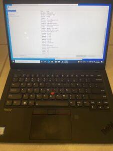 Lenovo ThinkPad X1 Carbon 7th Gen i7-8665U UHD 16GB 1TB  SSD Win 10 Warranty