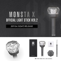 KPOP MONSTAX MONSTA X OFFICIAL FAN LIGHT STICK VER 2 + Tracking Number