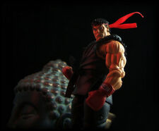 NEW AUTHENTIC NECA EVIL RYU BLACK SERVIVAL MODE STREET FIGHTER IV FIGURE  RARE!!