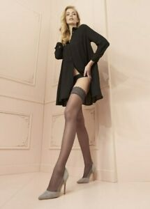 Trasparenze Rosy Lace Top Hold Ups