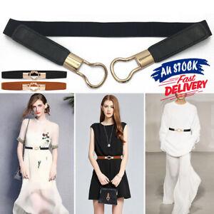 Gold Buckle Wide Waistband Elastic Waist Belt Waistband Stretch Belt Waist Belts