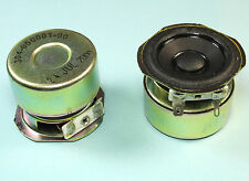 "2pcs 2"" Boston  Acoustic Speaker, 4 Ohm Impedance, Shielded magnet, 1.61"" depth"