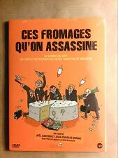 DVD DOCUMENTAIRE / CES FROMAGES QU'ON ASSASSINE / NEUF SOUS CELLO