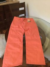 NWT LEVI'S 501 Men's Shrink to Fit Raw Unwashed Pink Jeans Size 34x30 Denim New