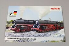 ZC3732 Marklin brochure train Ho locomotive vapeur frontiere 01512 29x21 265379