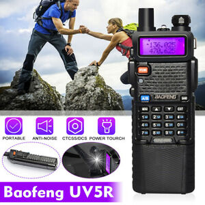 BaoFeng UV-5R 8W 10km Hohe Tri-Leistung UHF/VHF Hand Funkgerät Walkie Talkie