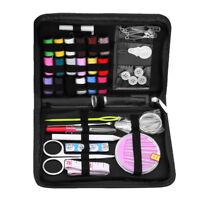 Sewing Box Set Kit Needle Scissor Storage Thread Measure Thimble Travel Tool #ur