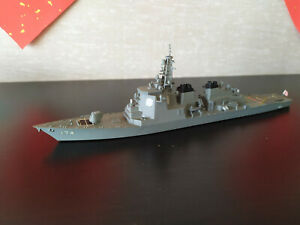 Built 1/700 JMSDF Kongo Class AEGIS Cruiser DDG-174 Kirishima Warship Model