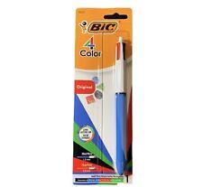 Bic 4 Color Medium Ballpoint Pen Original New Free Shipping Red Blue Green Black