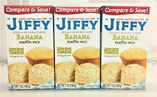 Jiffy Banana Muffin Mix 7 oz (3 pack)