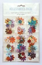 Accessories Pack of 90 Flower Embellishments