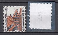 BRD 2001 Mi. Nr. 2224 R Gestempelt Rollmarke mit Nr. TOP!!! (20371)