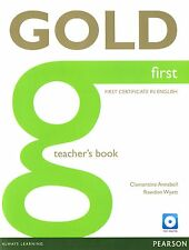 Pearson GOLD FIRST Certificate FCE Teacher's Book with Test Master CD-ROM @New@