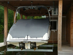 4000lb BOAT HOUSE LIFT FOR WAKE BOARD TOWERS