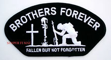 BROTHERS FOREVER FALLEN BUT NOT FORGOTTEN PATCH POW MIA US ARMY MARINES NAVY AIR