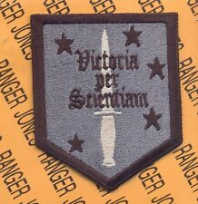 USMC MSOS Marine Special Operations School OEF patch