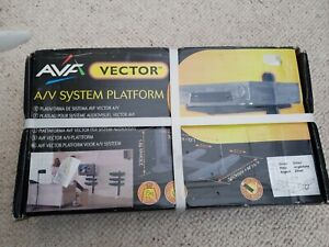 AVF Vector A/V System Platform playstation X box Sky freeview Silver New In Box